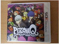 Nintendo 3DS PersonaQ Shadow of the Labyrinth Role Playing RPG Atlus NTSC-J