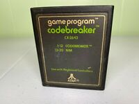Codebreaker Atari 2600 Text Label Version Game Tested
