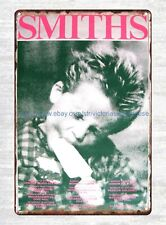 house of decor The Smiths Uk Tour Poster 1986 Kid Eating Ice Cream tin sign