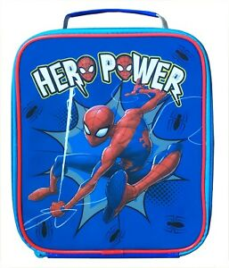 Spider-man Hero Reusable Insulated Lunch Bag for School, Nursery & Outdoors