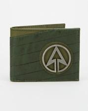 Arrow Metal Badge Bifold Wallet