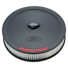"""Proform Air Cleaner Assembly 302-352; Ford Racing Black Crinkle Steel 13x2.625"""""""
