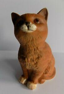 """Beswick  """"Seated Ginger Kitten""""   MATT   1886 ~ By Albert Hallam"""