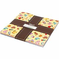 Dolly Jean 42~ 10-inch Squares Layer Cake by Darlene Zimmerman for Robert