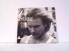 "STING ""BE STILL MY BEATING HEART / GHOST IN THE STRAND"" 45w/PS MINT"