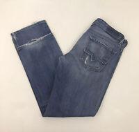 Mens Diesel Larkee Jeans Wash 0073H Blue Denim 33W 32L