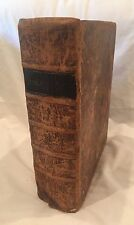 Large Illustrated Early American 1819 English Bible, Family History 1763-1907