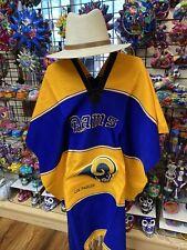 Rams  Football Sport Team Poncho Mexican Zarape Serape made in mexico