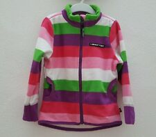 LEGO WEAR Fleecejacke Jacke Mädchen pink bunt Streifen Gr.98 NEU