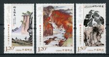China 2018 MNH Contemporary Art Works II 3v Set Paintings Stamps