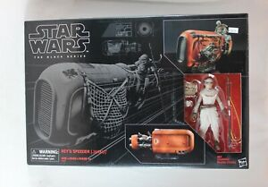 Star Wars The Black Series Rey's Speeder Jakku #03 1/12 Scale New Sealed