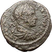 SEVERUS ALEXANDER  Marcianopolis Rare Ancient Roman Coin Nemesis Rhamnous i48223