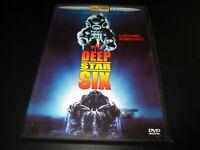 """DVD """"DEEP STAR SIX"""" Nancy EVERHARD / film d'horreur de Sean S. CUNNINGHAM"""