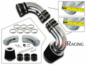 BLACK COLD AIR INDUCTION INTAKE System +Filter For CHEVY 96-05 S10 Blazer 4.3 V6