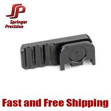Springer Precision Competition EZ Slide Racker Backplate For Glock -Black, Right