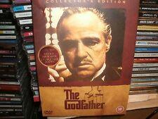 The Godfather (DVD, 2004) INC 4 POSTCARDS,AND FAMILY TREE