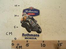 STICKER,DECAL ROTHMANS RACING HONDA NSR HRC NO 3 ? GRAND PRIX MICHAEL DOOHAN ?