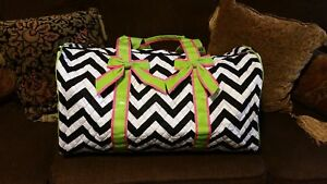 Quilted, Chevron duffle bag
