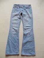 Levi's 529 Damen Bootcut Jeans Hose, W 31 /L 34, light washed Denim, VINTAGE !