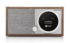 Tivoli Modelo de una radio digital DAB/FM de nuez/Gris Con Bluetooth Y Wifi