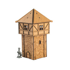 Fantasy medieval tower 28mm terrain scenery mdf