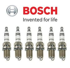 Set of 6 Spark Plugs Bosch Super Plus FR8DCX For Honda Jaguar Toyota Subaru