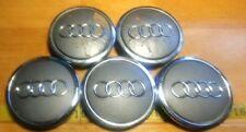 (5) AUDI MADE IN GERMANY HUB CAPS 4B0 601 170A {HC315}