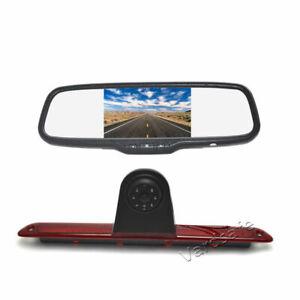 Brake Light Backup Camera & Mirror Monitor For Mercedes Sprinter (2007-2018)