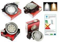 12V LED techo Empotrable Foco Muebles de la luz Lámpara infraestructura 3 Watt
