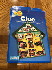 1990 Clue Board Game Travel Edition by Parker Brothers COMPLETE