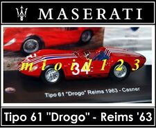 1/43 - Maserati 100 Years Collection : TIPO 61 Drogo #34 '63 - Die-cast
