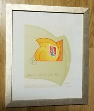Canada Stamps — Limited Edition Print SIGNED — 2003, Year of the Ram — Framed