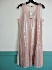 CHAN LUU L Dress Amazing Mahogany Rose Sequins Embroidery  Overlay   NWT