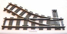 Lego Train Track 9V Switch Point Right Electric 4531 4512 Hard-to-Find