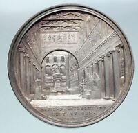 1873 ITALY Vatican Christian POPE PIUS IX Saint Lorenzo Basc Silver Medal i86417