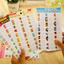 5 Sheets Waterproof Name Sticker for Notebook Kids Diary Mark Scrapbook Lables