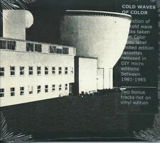 COLD WAVES OF COLOR - UK GARY RAMON DIY COLOR TAPES LABEL COMP 81-85 SEALED CD
