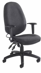 Brand New Sofia Large Task Operator Office Chair Adjustable Lumber Support Pad