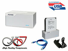 DOCKING STATION SATA - USB3 (USB 3.0 Superspeed 5GB) - Aluminium