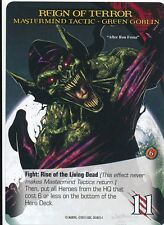 ZOMBIE GREEN GOBLIN 2015 UD Marvel Legendary SP MASTERMIND TACTIC LOVE TO HAVE