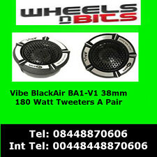 Vibe BlackAir BA1-V1 180 Watt 38mm Slick Done Car Tweeter Tweeters ba1 v1