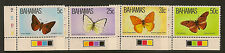 BAHAMAS  : 1983 Butterflies set SG 653-6 unmounted mint