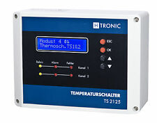 TS 2125 Circulating Pump Control Central Heating, Gas Heater, Oil 1 Probe