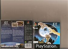 E.T THE EXTRA TERRESTRIAL INTERPLANETARY MISSION PLAYSTATION 1 PS1 PS 2