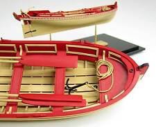 MODEL SHIPWAYS 21 FT ENGLISH PINNACE Plank-on-frame wood  KIT boat longboat