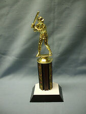 male baseball trophy award home plate base ruby column