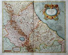 ITALIA ITALY ITALIEN ADRIA ABRUZZO CITRA ET ULTRA SUPERB MAGINI MAPPA 1620