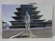 Indianapolis Motor Speedway Pagoda Indianapolis 500 Borg-Warner Trophy Postcard