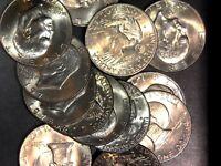 "✯ AU/BU 1971-1978 P D Eisenhower - ""1 IKE SILVER DOLLAR"" COIN LOT✯"