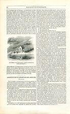 Maison Poète Bretagne Rivière de Tréguier/Architecture des Abeilles GRAVURE 1842